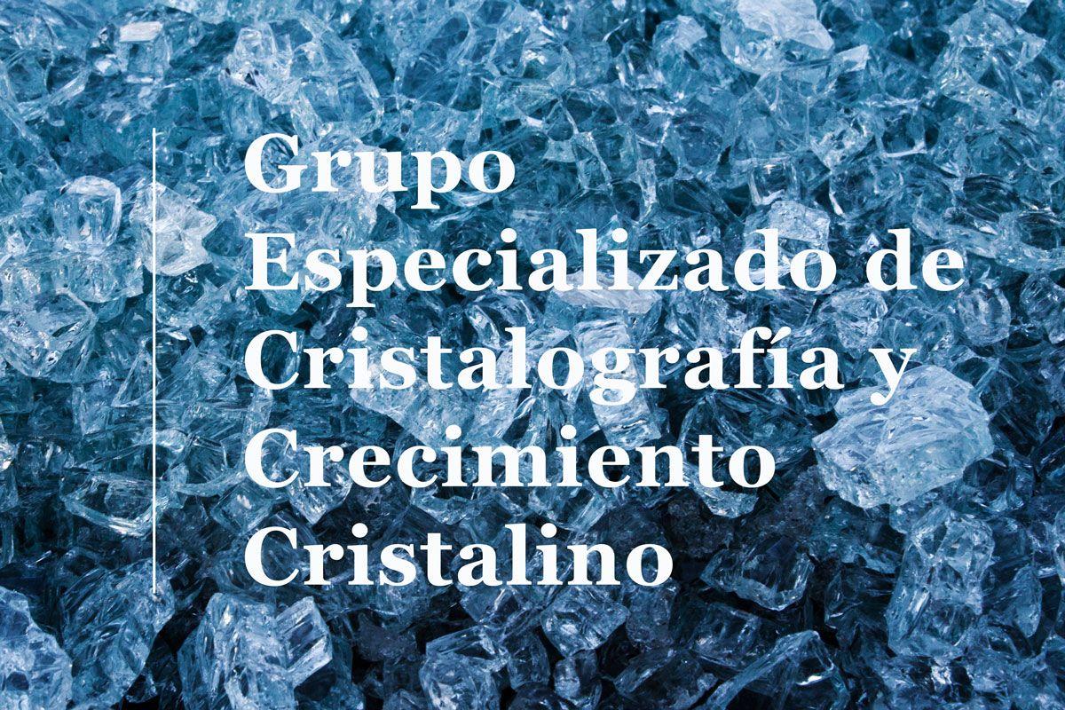 El Grupo Especializado de Cristalografía y Crecimiento Cristalino
